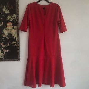 Ruby Red Club L London Dress